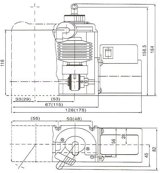 波纹管药液计量泵结构图