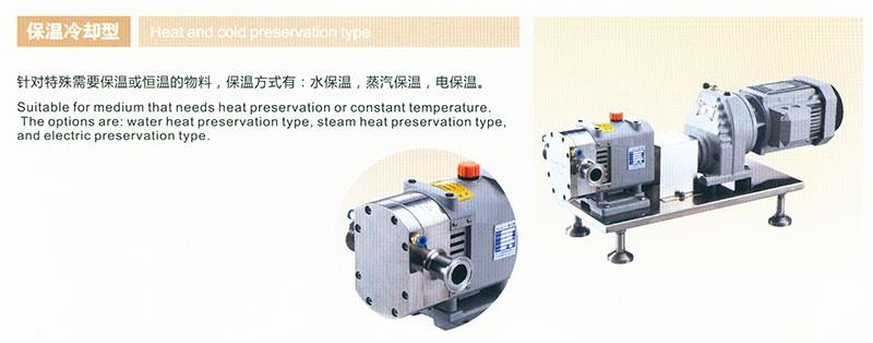 转子泵配置